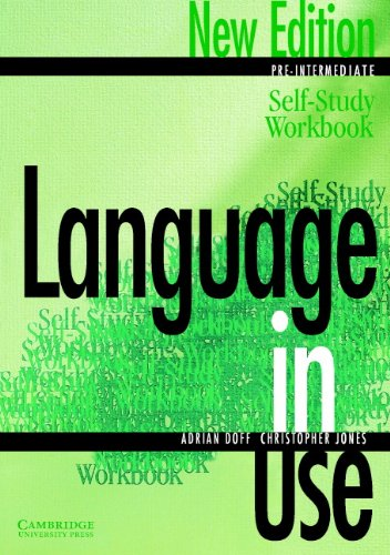 9780521774062: Language in Use Pre-Intermediate Self-study workbook