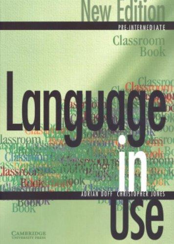 9780521774079: Language in use. Pre-intermediate classroom book. Per le Scuole superiori: Language in Use 2nd Pre-Intermediate Classroom book