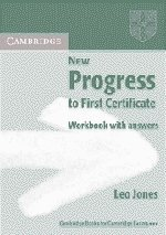 9780521774253: New Progress to First Certificate Workbook with answers