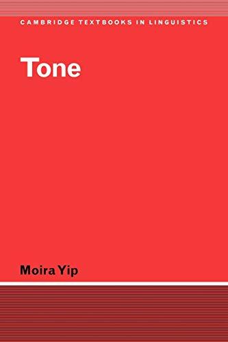 9780521774451: Tone