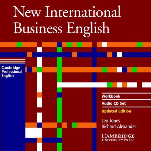 9780521774666: New International Business English Workbook Audio CD Set (2 CDs)