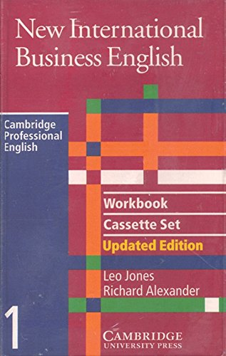 9780521774673: New International Business English Workbook Audio Cassette Set (2)