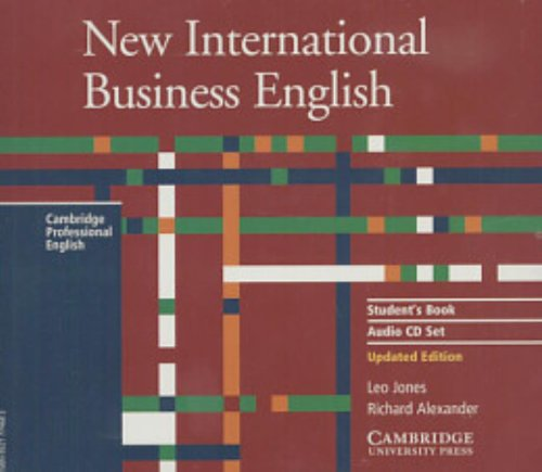 9780521774680: New International Business English Student's Book Audio CD Set (3 CDs) (Cambridge Professional English)