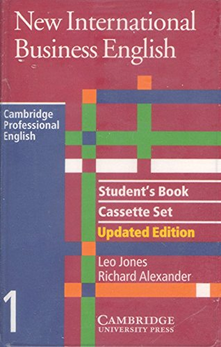9780521774697: New International Business English Updated Edition Student's Book and Audio Cassette Set (3 Cassettes) (Cambridge Professional English)