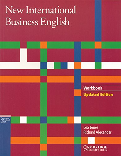 9780521774703: New International Business English Updated Edition Workbook