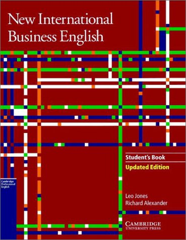 9780521774727: New International Business English Updated Edition Student's Book