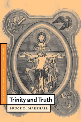 9780521774918: Trinity and Truth (Cambridge Studies in Christian Doctrine)