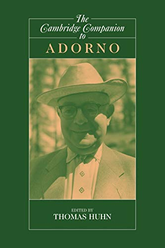9780521775007: The Cambridge Companion to Adorno (Cambridge Companions to Philosophy)