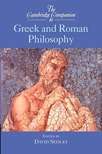 9780521775038: The Cambridge Companion to Greek and Roman Philosophy Paperback (Cambridge Companions to Philosophy)