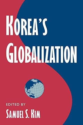 9780521775595: Korea's Globalization Paperback (Cambridge Asia-Pacific Studies)