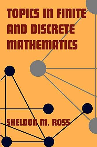 9780521775717: Topics in Finite and Discrete Mathematics