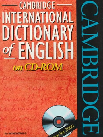 9780521775755: Cide Cambridge international dictionary of english. Con CD-ROM
