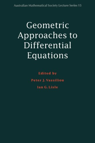 9780521775984: Geometric Approaches to Differential Equations (Australian Mathematical Society Lecture Series)