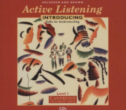 Active Listening: Introducing Skills for Understanding Audio CDs (v. 1) (0521776678) by Helgesen, Marc; Brown, Steven
