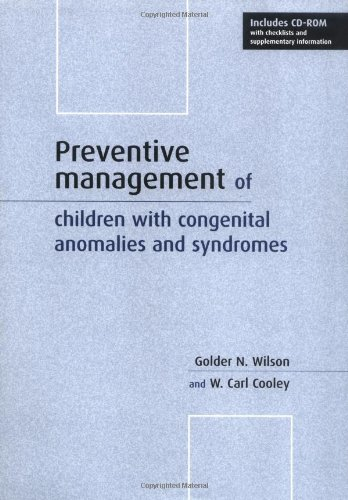 9780521776738: Preventive Management of Children with Congenital Anomalies and Syndromes