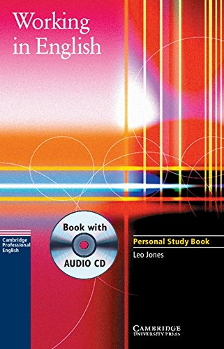 9780521776851: Working in English Personal Study Book with Audio CD (Cambridge Professional English)