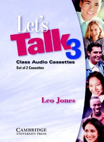 9780521776905: Let's Talk 3 Audio Cassettes