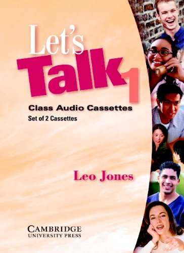 Let's Talk 1 Audio Cassettes (0521776937) by Leo Jones