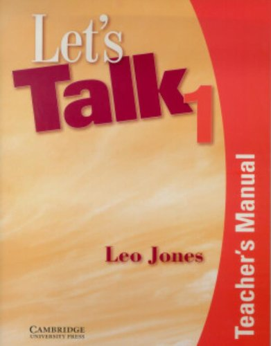 9780521776943: Let's Talk 1 Teacher's Manual
