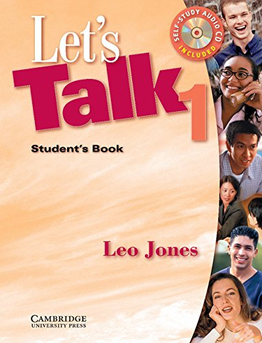 9780521776950: Let's Talk 1 Student's Book and Audio CD