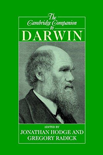9780521777308: The Cambridge Companion to Darwin (Cambridge Companions to Philosophy)