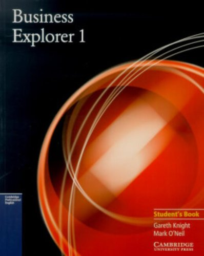 9780521777803: Business Explorer 1 Student's Book