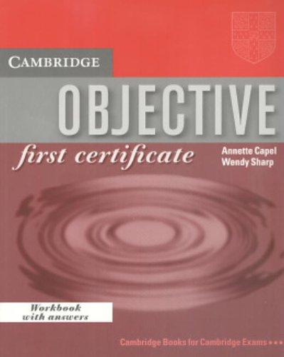 9780521778015: Objective: First Certificate Workbook with answers