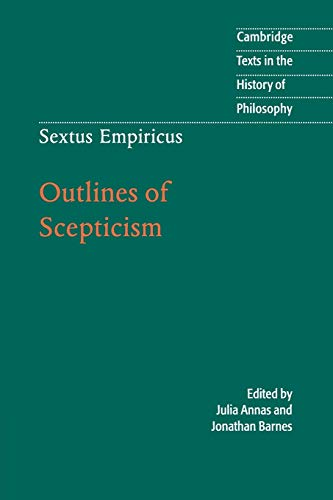 9780521778091: Sextus Empiricus: Outlines of Scepticism (Cambridge Texts in the History of Philosophy)
