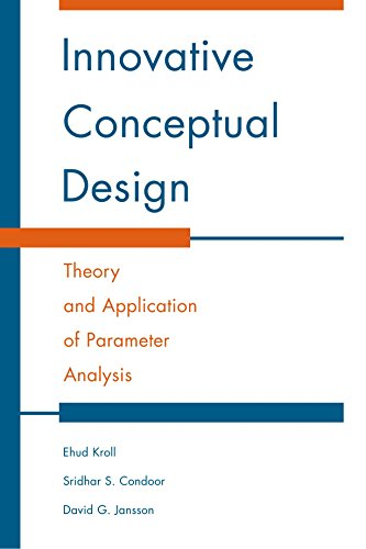 9780521778480: Innovative Conceptual Design: Theory and Application of Parameter Analysis