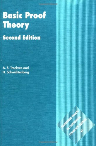 9780521779111: Basic Proof Theory (Cambridge Tracts in Theoretical Computer Science)