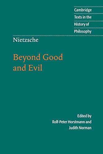 9780521779135: Nietzsche: Beyond Good and Evil Paperback: Prelude to a Philosophy of the Future (Cambridge Texts in the History of Philosophy)