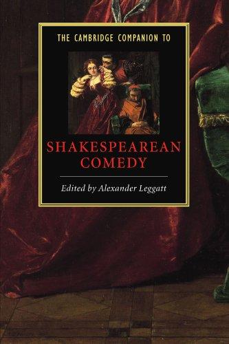9780521779425: The Cambridge Companion to Shakespearean Comedy (Cambridge Companions to Literature)