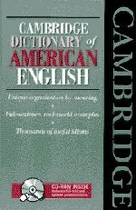 9780521779746: Cambridge Dictionary of American English Book and CD-ROM