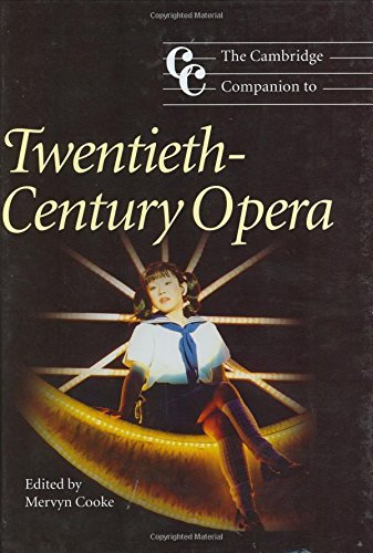 9780521780094: The Cambridge Companion to Twentieth-Century Opera Hardback (Cambridge Companions to Music)