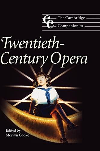 9780521780094: The Cambridge Companion to Twentieth-Century Opera (Cambridge Companions to Music)