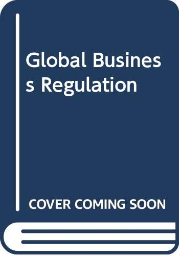 9780521780339: Global Business Regulation
