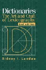 9780521780407: Dictionaries: The Art and Craft of Lexicography