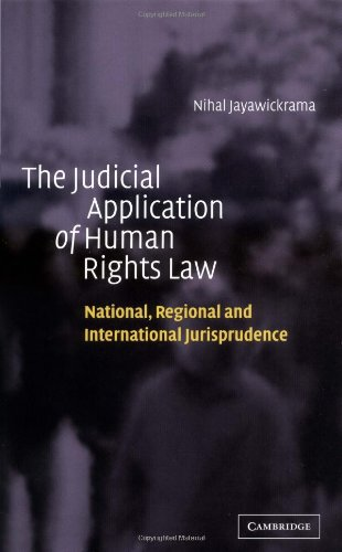 9780521780421: The Judicial Application of Human Rights Law: National, Regional and International Jurisprudence