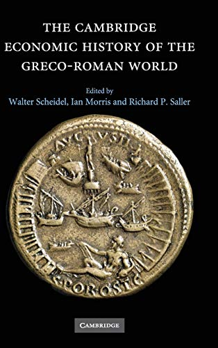 9780521780537: The Cambridge Economic History of the Greco-Roman World Hardback