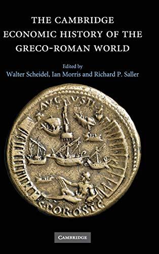 9780521780537: The Cambridge Economic History of the Greco-Roman World