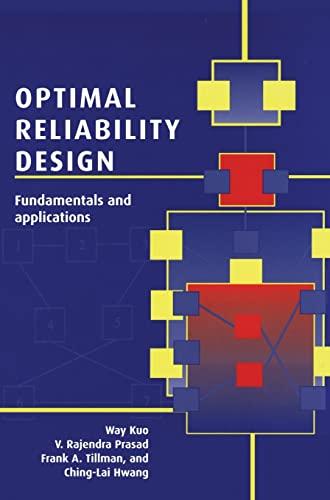 9780521781275: Optimal Reliability Design: Fundamentals and Applications