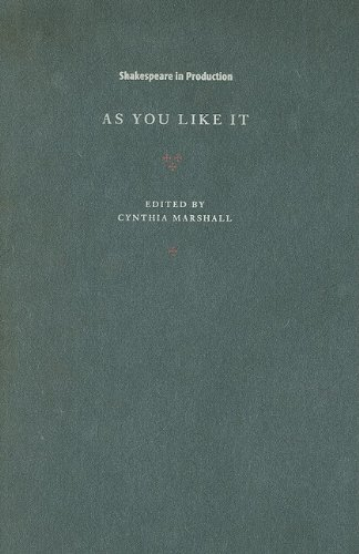 9780521781374: As You Like It Hardback (Shakespeare in Production)