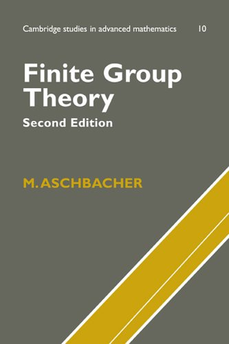 9780521781459: Finite Group Theory (Cambridge Studies in Advanced Mathematics)