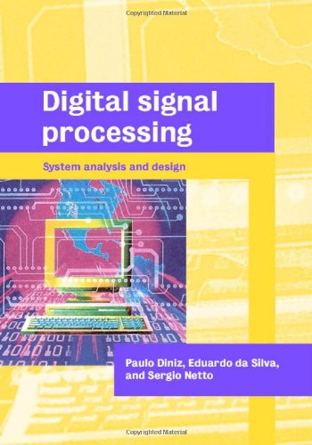 9780521781756: Digital Signal Processing: System Analysis and Design