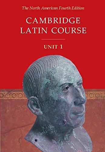9780521782289: Cambridge Latin Course Unit 1 Student's Text North American edition (North American Cambridge Latin Course)