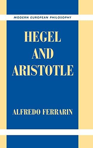 9780521783149: Hegel and Aristotle
