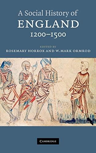9780521783453: A Social History of England, 1200-1500