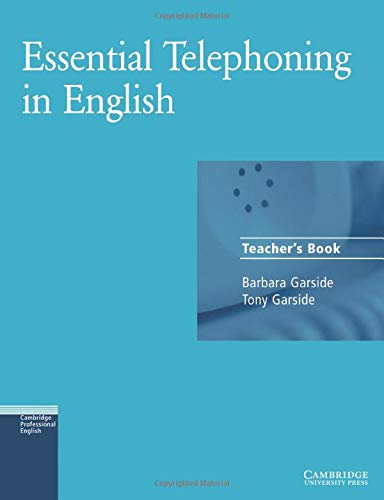 9780521783897: Essential Telephoning in English Teacher's book