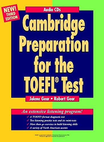 9780521783996: Cambridge Preparation for the TOEFL Test Audio CDs