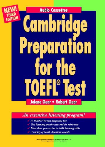 9780521784009: Cambridge Preparation for the TOEFL Test Audio Cassettes
